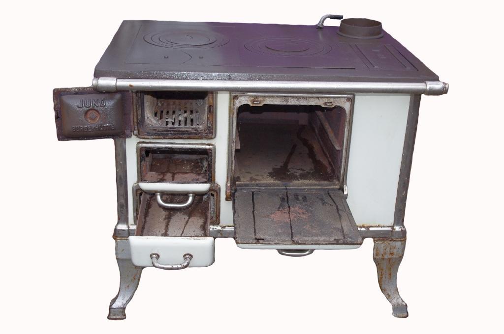 antiker alter k chenofen k chenherd omas zeiten holz kohle emailliert 30er. Black Bedroom Furniture Sets. Home Design Ideas