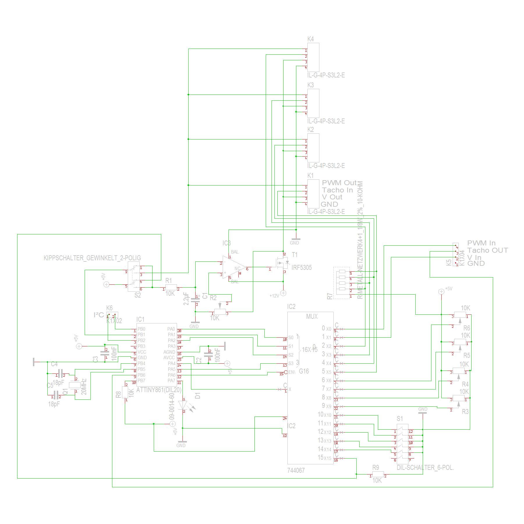Seite drucken - Lüftersteuerung ohne Spannungsdrop v2.0 - NoDrop II
