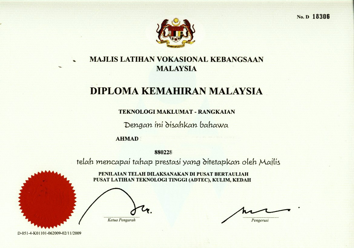 Apa Itu Sijil Kemahiran Malaysia Apa Faedahnya Page 12 Carigold Forum